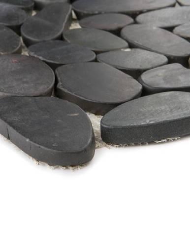 Mozaika Kiesel black flat mat 47673 30x30