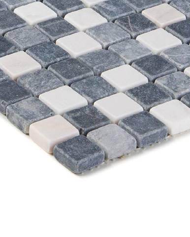 Mozaika marmormix grau weiss 47581 30x30