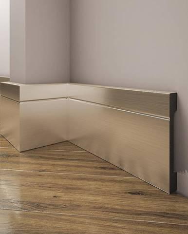 Podlahová lišta Elegance LPC-20-150 šampaň kartáčovaný