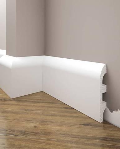 Podlahová lišta Elegance LPC-99-101 bílá mat