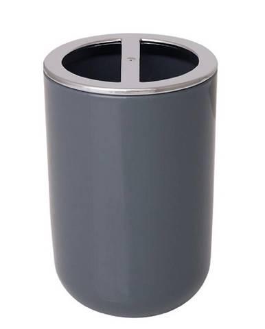 Sklenice na kartáčky Alba grey
