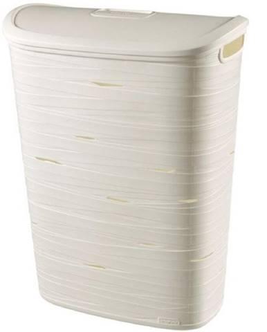 Prádelní koš Ribbon 49l 222951 bílý