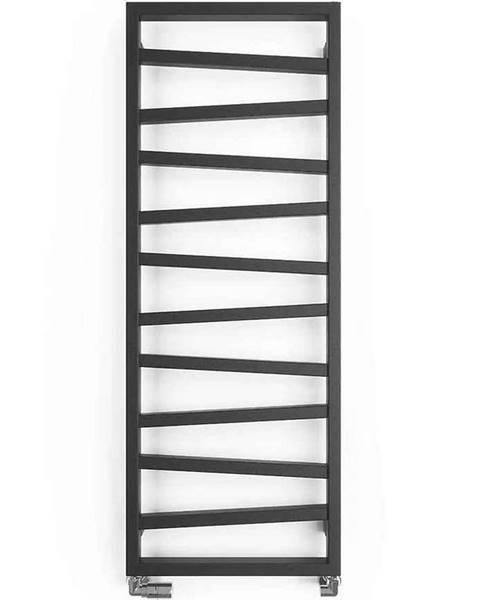 TERMA Koupelnový radiátor ZAG 2 metallic grey 1334/500 490 W
