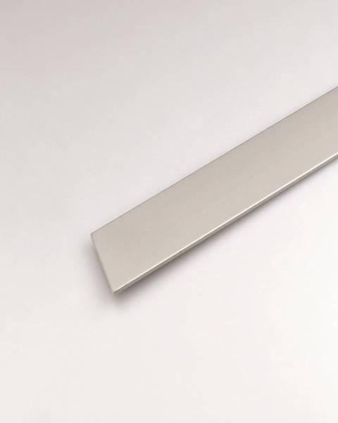 PARQUET MERCADO Profil plohý hliník  stříbrný 30x2000