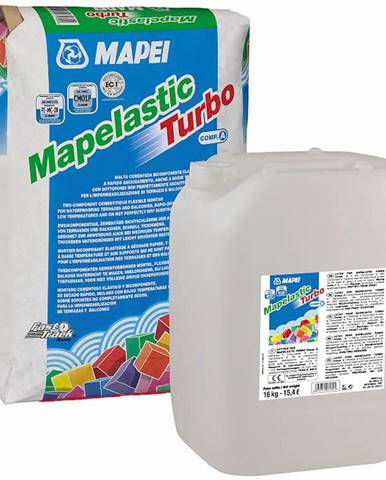 Hydroizolační stěrka Mapei Mapelastic Trubo (36) /A+B 36 kg