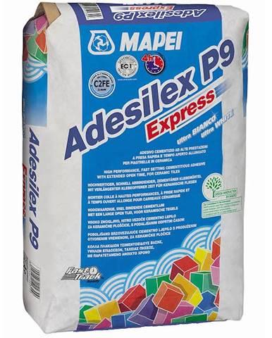 Lepidlo na obklady a dlažbu Mapei Adesilex P9 Express C2TE 25 kg šedé