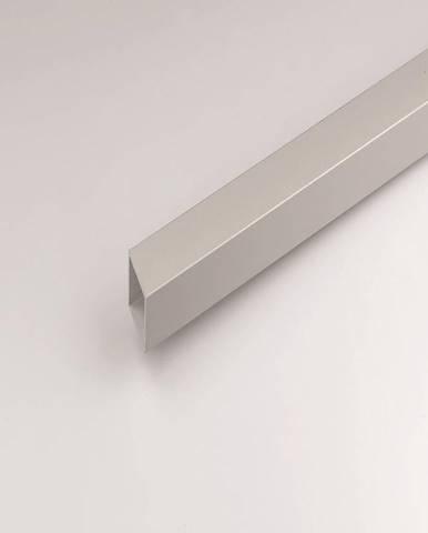 Profil  čtvercový hliník stříbrný 20x20x1000