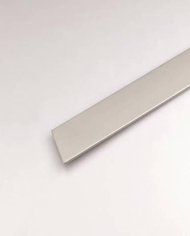 Profil plohý hliník  stříbrný 25x1000