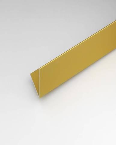 Rohový Profil  ALU Merc Zlatý 10x10x1000