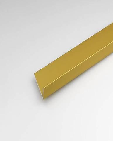 Rohový Profil  ALU Merc Zlatý 20x10x1000