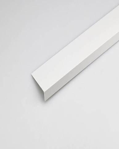 Rohový Profil PVC Bílý Satén 20x10x2000