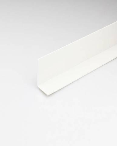 Rohový Profil PVC Bílý Satén 20x20x2000