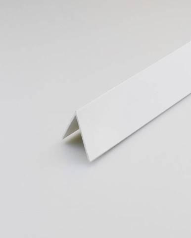 Rohový Profil PVC Bílý Satén 30x30x2000