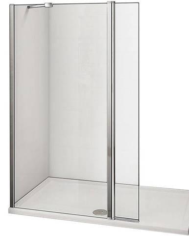 Stěna WALK - IN Dafne (70+30)x195 čirě - chrom