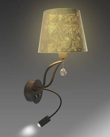 Svitidlo A0029-220 Saria1x6W E14 LED+8W LED 3000K