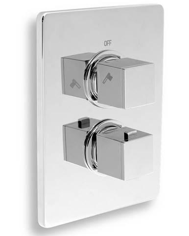 Sprchová termostatická baterie 2-cestný ventil chrom NOVASERVIS 2850R,0