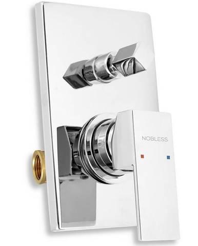Vanová sprchová baterie s přepínačem EDGE chrom NOVASERVIS 36050R,0