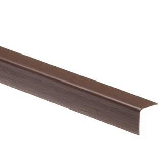 Uhelnik 40x40 wenge 127 dł.2,75m