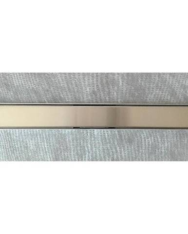 Lineární odvodnìní plné, sprchový žlab nerez 700mm