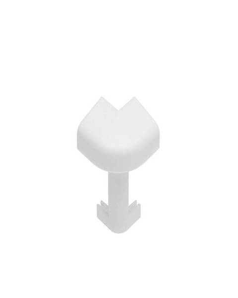 CEZAR Rohová spojka vnější1ks NWO 101 bílý