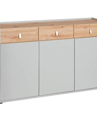 Komoda Vivero 139cm Grey/Artisan