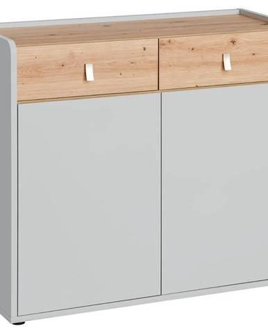 Komoda Vivero 94cm Grey/Artisan
