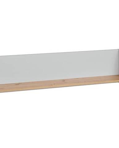Polička Vivero 134cm Grey/Artisan