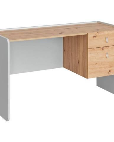 Psací Stůl  Vivero 134cm Grey/Artisan