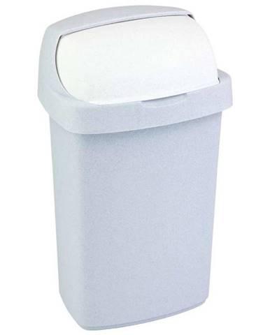 """Odpadkový koš """"Roll Top"""" 25l šedý lux 156720"""