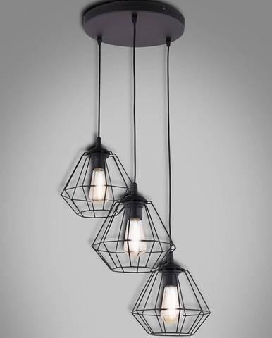 Závěsné svítidlo Diamond black 4308 PL3