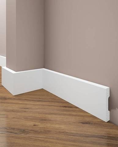 Podlahová lišta Elegance LPC-36-T101 bílá satén