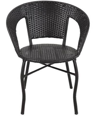 Židle ratan Diana hnědá