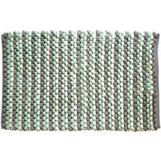 Kobereček Mosaic šedo-mátový 50x80cm
