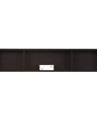 Skříňka Finezja 160 cm Dub Sonoma Čokoláda