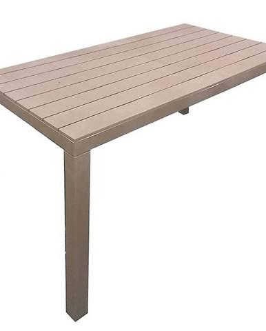 Stůl Sumatra 138x78x72 taupe