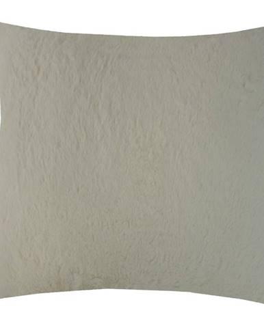 Dekorační polštář, 45x45 cm, krémový