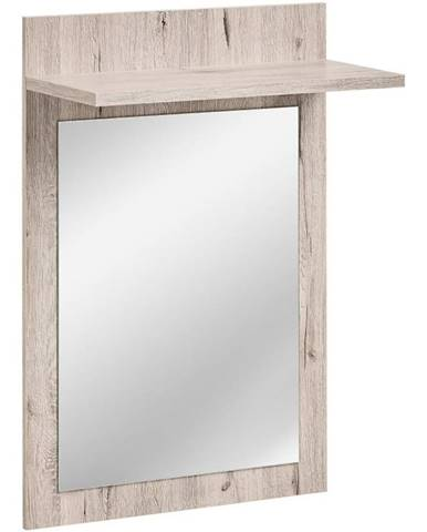 Zrcadlo  Gustavo Typ E Wellington/Bílý Lesk Dww Gv Typ E