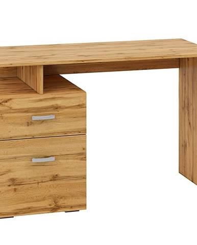 Psací Stůl Miu 119cm Dub Wotan