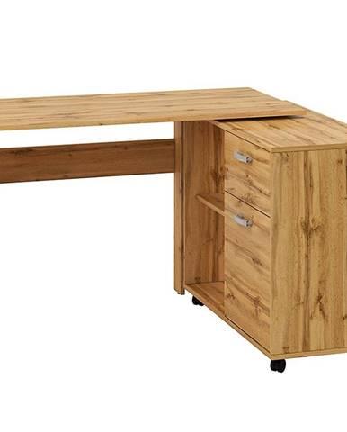 Psací Stůl Miu 169cm Dub Wotan