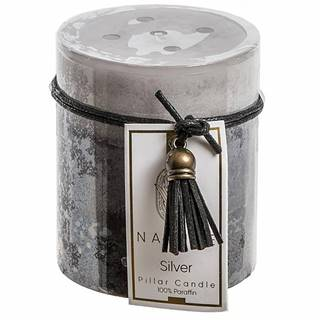 Vonná svíčka 'silver tinsel' SW04202