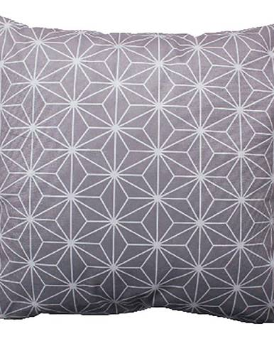Dekorační polštář 40x40 Stern šedá