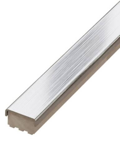 Lišta kovová INOX kartáčovaná  2/60