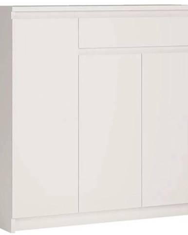 Komoda Armadio 109 cm, bílá
