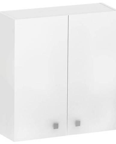 Závěsná skříňka bílá Rubid 2D0S 60