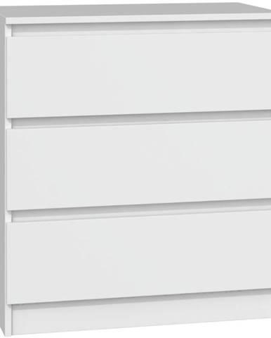 Komoda Malwa M3 Bílý