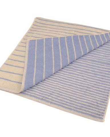 Ručník žakár Excellent 50x100 pruhy modrý 500g/m2