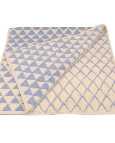 Ručník žakár Excellent 50x100 triangle modrý 500g/m2