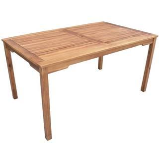Dřevěný obdélníkový stůl 150x90x75 cm
