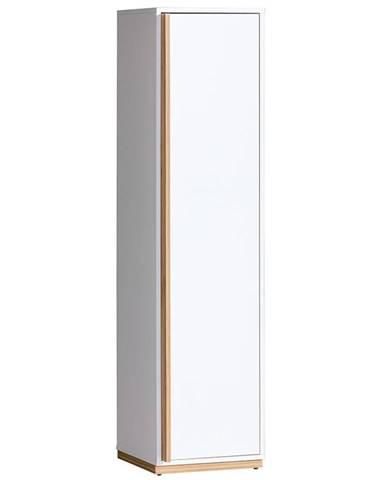 Prádelník Evado 41cm Ořech/Bílý Bryl