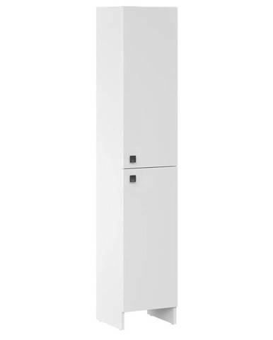 Vysoká skříňka bílá Rubid 2D0S 30